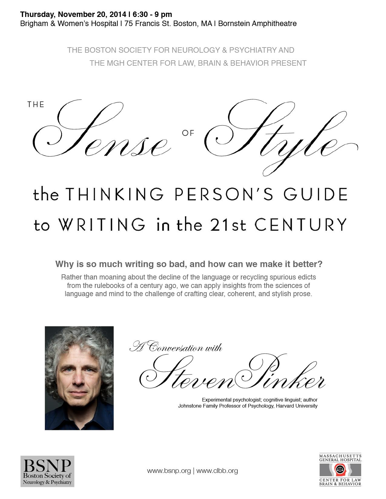 Steven pinker thinking machines essay