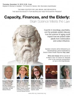 Capacity, Finances, and the Elderly